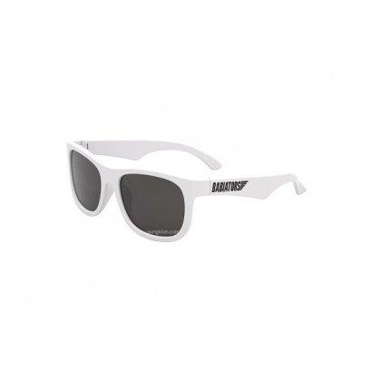 แว่นตากันแดดเด็ก Babiators รุ่น Navigator Wicked White สีขาว