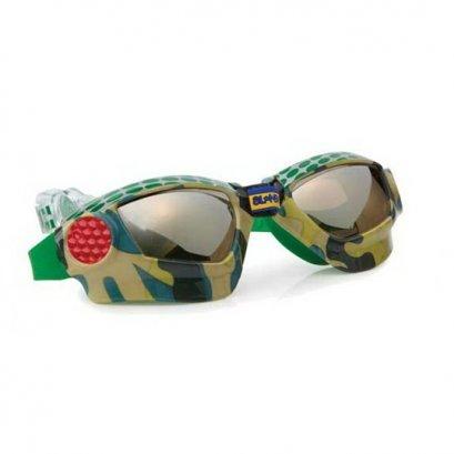 แว่นตาว่ายน้ำ Bling2o - MUDCAMO GREEN METAL GRILL