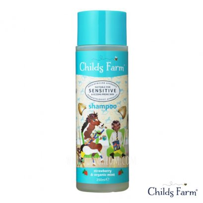Childs Farm Shampoo แชมพูสูตรเพิ่มความชุ่มชื้นให้เส้นผม สำหรับ 1 ปีขึ้นไป