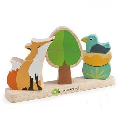 ของเล่นไม้/แม่เหล็ก Foxy Magnetic Stacker - Tender leaf toys