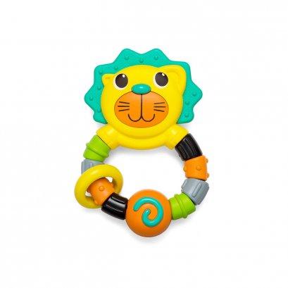 ของเล่นพร้อมยางกัดสิงโต Lion Teether - Infantino (3m+)
