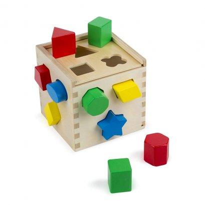 Shape Sorting Cube  - Melissa and Doug  (18m+)