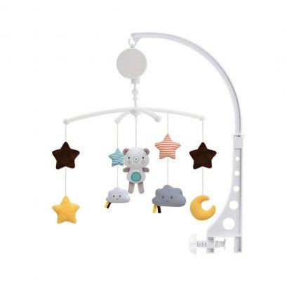 Konig Kids Wind-Up Baby Musical Crib Mobile