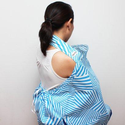 ผ้าคลุมให้นม Beanie Nap รุ่นมีผ้าปิดหลัง ลาย Maki (มากิ)