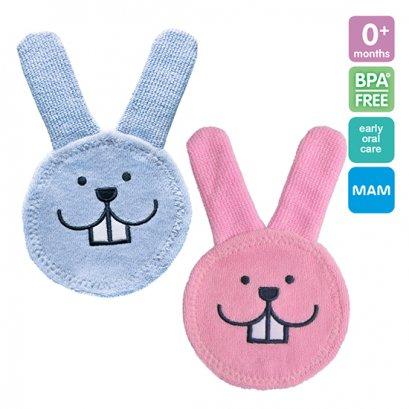 MAM Oral Care Rabbit ผ้าทำความสะอาดช่องปากเด็ก