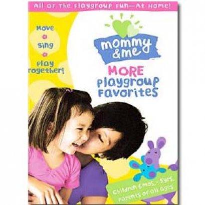 DVD เพลงสำหรับเด็กMommy & Me  More Playgroup Favorites