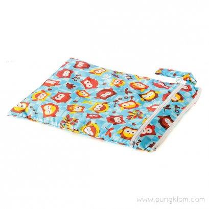 "Bumkins Wet Dry Bag ถุงใส่ผ้าเปียก/แห้ง ขนาด 12.5""W X 16""L"