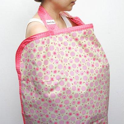 ผ้าคลุมให้นม Beanie Nap Nursing cover ลาย Candy Rose