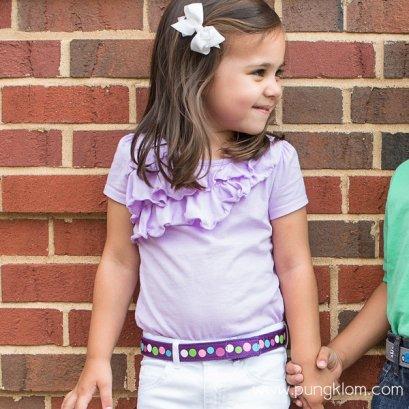 Myselfbelts เข็มขัดเด็กเล็กให้เด็กฝึกถอด-ใส่เอง Size L