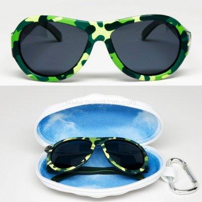 แว่นตากันแดดเด็ก BABIATORS รุ่น Polarized 0-3 ปี สี Cool Camo