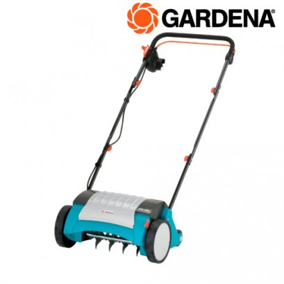 Electric Lawn Aerator EVC 1000 ready-to-use Set