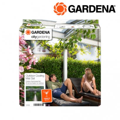 Gardena Outdoor Cooling Mist Set