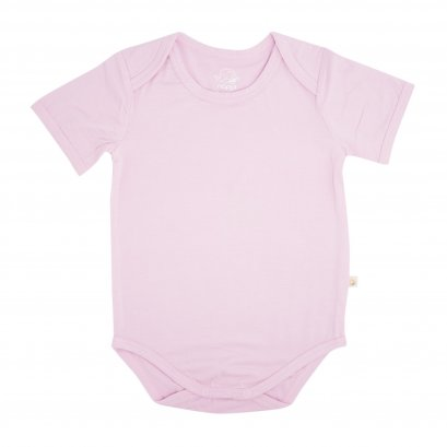 Bamboo Baby Body Suit 0-3 months ( Pink)