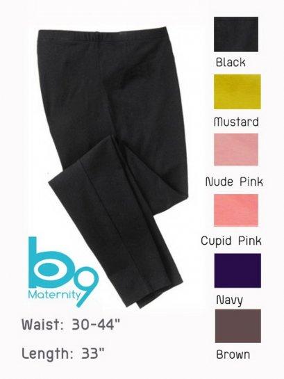 Maternity Full-Panel Leggings - 3/4 length