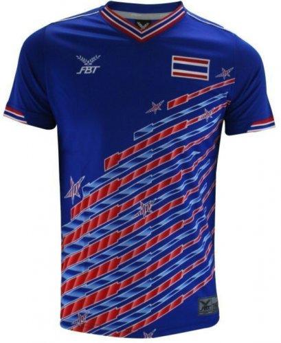 Original Thailand National Team Thai Football Soccer Jersey Shirt Retro Blue Player