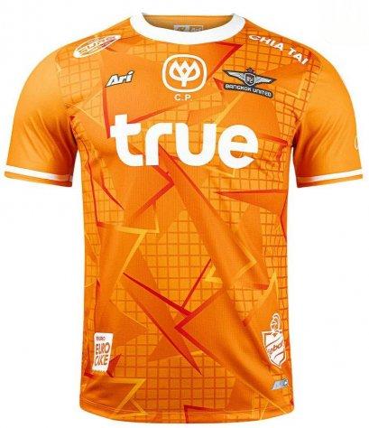 2021 Bangkok United Authentic Thailand Football Soccer League Jersey Shirt Home Goalkeeper