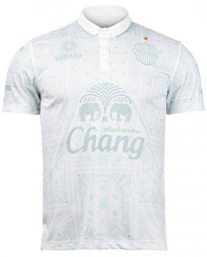 2021 Buriram United Thailand Football Soccer League Jersey Shirt Away White
