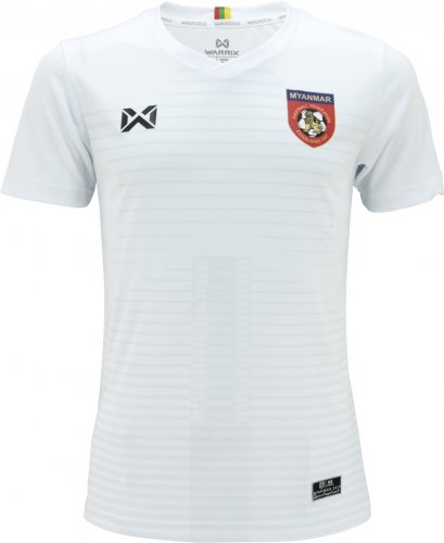 Myanmar National Team Football Soccer Authentic Genuine Jersey Shirt White Size M
