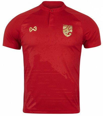 2020 Thailand National Team Thai Football Soccer Jersey Shirt Red Player Replica
