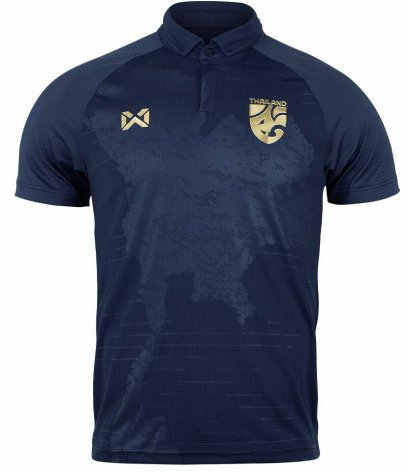 2020 Thailand National Team Thai Football Soccer Jersey Shirt Blue Player Replica