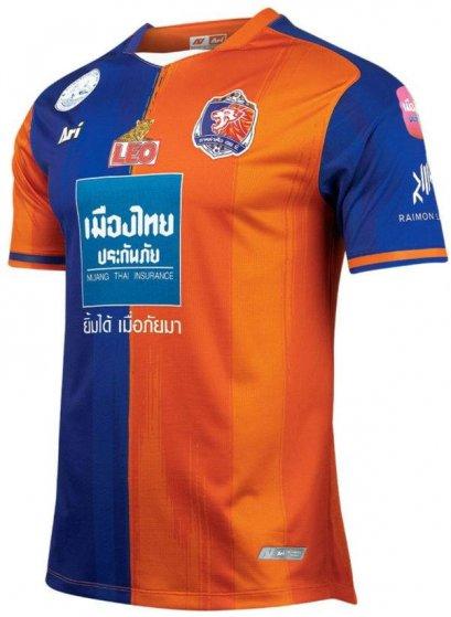 2021 Port FC Thailand Football Soccer League Jersey Shirt Home Player Edition