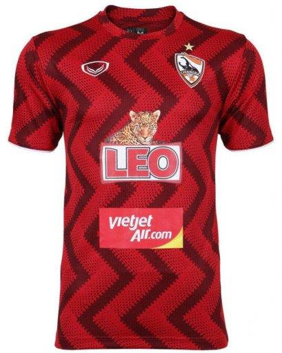 2021 Chiang Rai United FC Thailand Football Soccer League Jersey Shirt Training Red