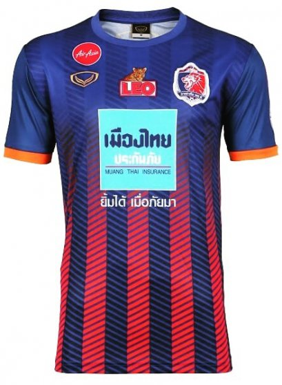 Port FC 2020 Thailand Football Soccer League Jersey Shirt Home Blue