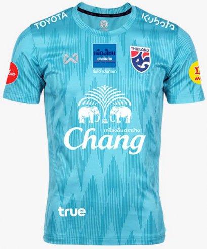 2020 Thailand National Team Thai Football Soccer Jersey Shirt Player Version Green Training Full Sponsor