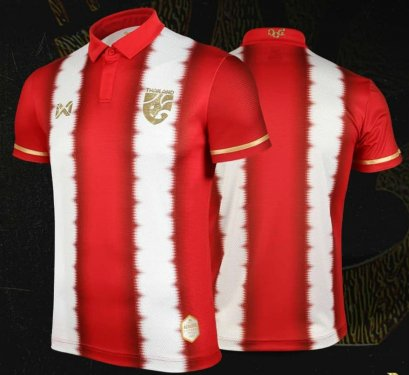 Limited Edition Thailand National Team Thai Football Soccer Jersey Shirt Retro 1915 Player