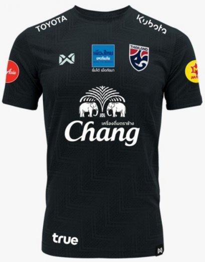 Thailand National Team Thai Football Soccer Jersey Shirt Player Version Dark Gray Training