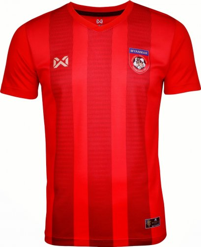 2020 Myanmar National Team Football Soccer Authentic Genuine Jersey Shirt Red