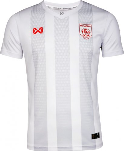 2020 Myanmar National Team Football Soccer Authentic Genuine Jersey Shirt White