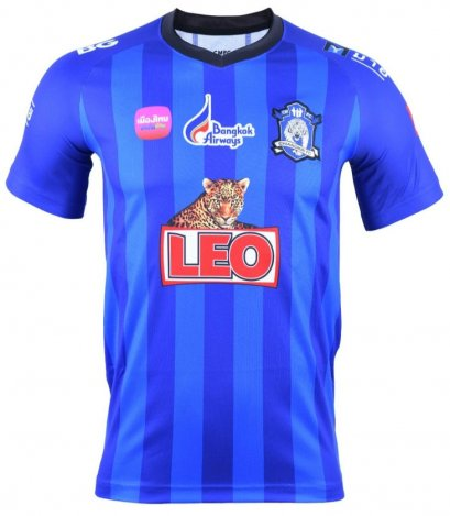 Chiang Mai FC Authentic Thailand Football Soccer League Jersey Shirt Home Blue