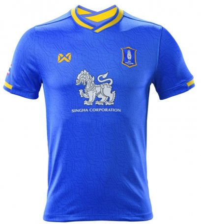 2021 Bangkok Glass BG Phatum BGPU FC Thailand Football Soccer League Jersey Shirt Blue ACL