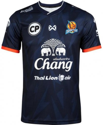 2020 Suratthani Chargers Authentic Thailand Football Soccer Futsal League Jersey Away Blue