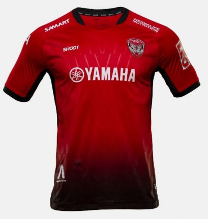 2021 Muangthong United Authentic Thailand Football Soccer Thai League Jersey Shirt Home Red