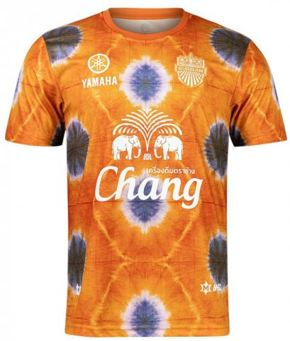 2021 Buriram United Thailand Football Soccer League Jersey Shirt Orange
