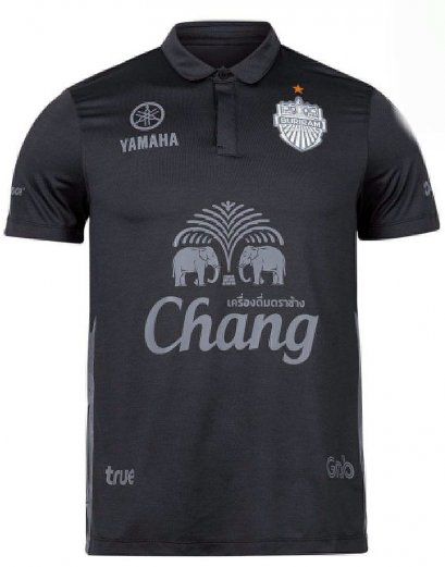 2020 Buriram United Thailand Football Soccer League Jersey Shirt Third Black