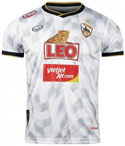 2020 Chiang Rai United FC Thailand Football Soccer League Jersey Shirt White Away Player Edition