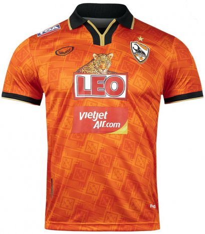 2020 Chiang Rai United FC Thailand Football Soccer League Jersey Shirt Orange Home Player Edition