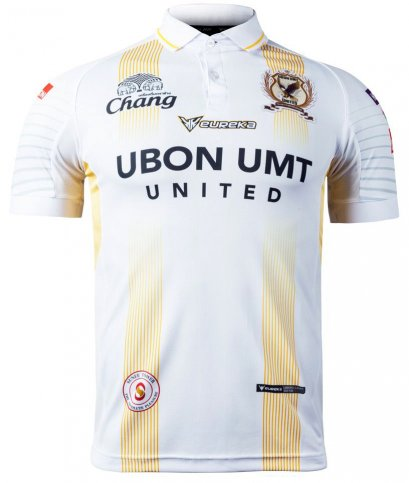 Ubon UMT United FC Authentic Thailand Football Soccer Thai League Jersey Shirt Player White