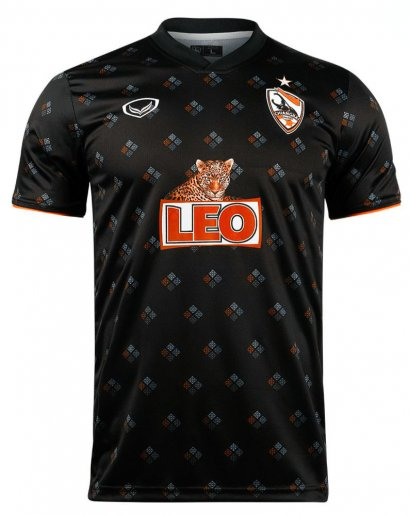 2021 Chiang Rai United FC Thailand Football Soccer League Jersey Shirt AFC Champion League ACL Black Player Edition