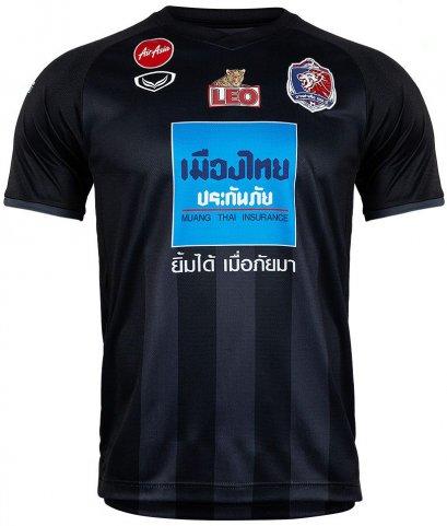 Port FC Thailand Football Soccer League Jersey Shirt Third Black Player Edition