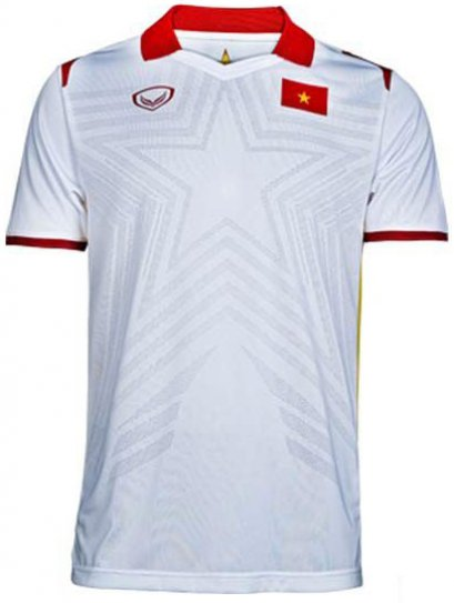 2021 Vietnam National Team Genuine Official Football Soccer Jersey Shirt White Away Player Edition