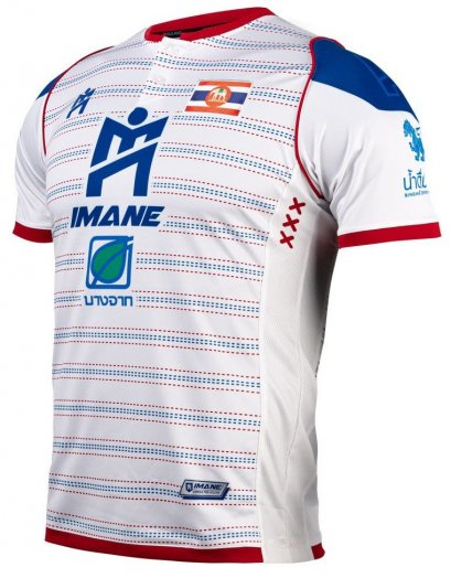 2021 Royal Thai Navy Authentic Thailand Futsal League Jersey Home White Player