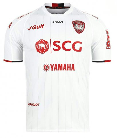 2020 SCG Muangthong United Authentic Thailand Football Soccer Thai League Jersey Shirt Away White