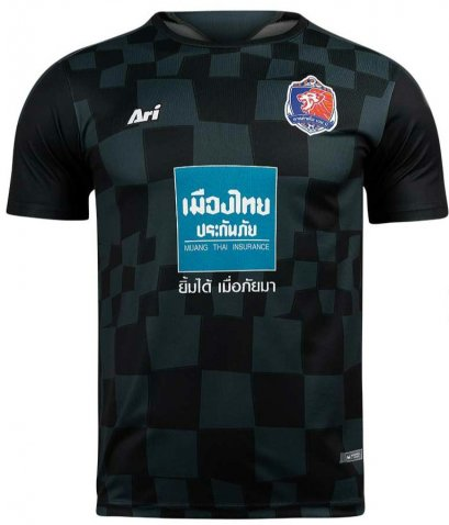 Port FC 2021 Thailand Football Soccer League Jersey Shirt GK Black AFC Champion League ACL Player Edition