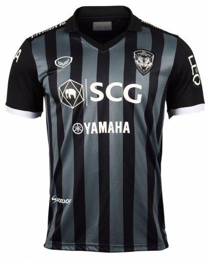 SCG Muangthong United Authentic Thailand Football Soccer Thai League Jersey Shirt Away Black