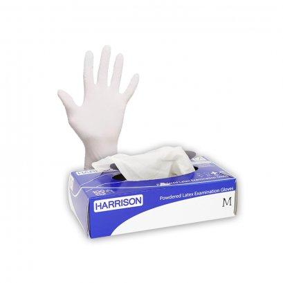 ถุงมือแพทย์ (แบบมีแป้ง) HARRISON