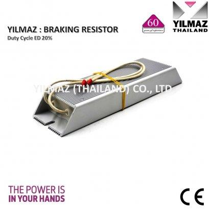 YILMAZ Braking resistor RXLG-0.4/20%., 0.40kW